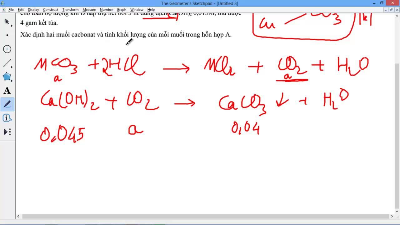 [HÓA HỌC 10 NC] Chương 2 – [BÀI TẬP] 19 [Cực Hay] Bài 2.38 Bài toán hòa tan kết tủa Ca(OH)2