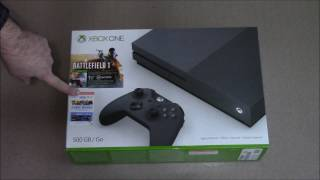 Unboxing: Xbox One S 500GB Battlefield 1 Edition
