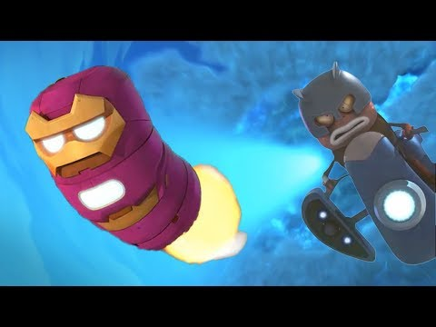LARVA - IRON RED | Cartoon Movie | Cartoons For Children | Larva Cartoon | LARVA Official