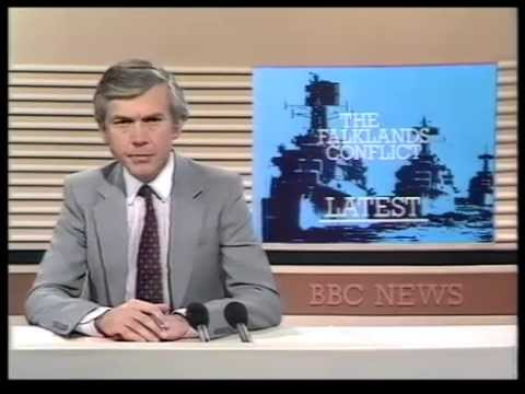 4 May 1982 BBC1 - Falklands News Report & first ever Wogan