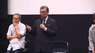 2015年7月23日に日大芸術学部で行われた映画『ソ満国境 15歳の夏』特別...