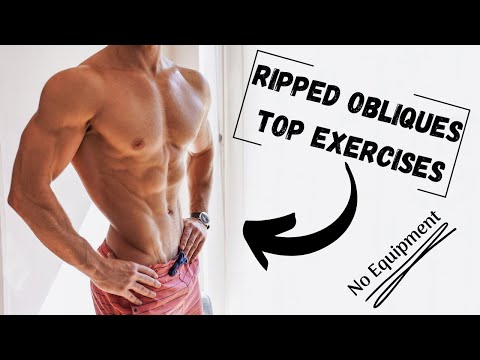 THE BEST OBLIQUE EXERCISES | Ripped Obliques | No Equipment | Rowan Row