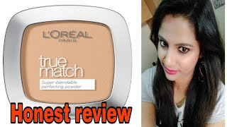 Loreal Paris ture match super blendable powder review in hindi