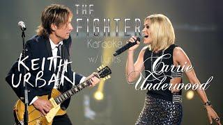 Keith Urban & Carrie Underwood - The Fighter (Karaoke w/ Lyrics)