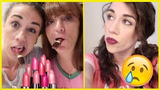 EATING EDIBLE LIPSTICK & SAD NEWS :(
