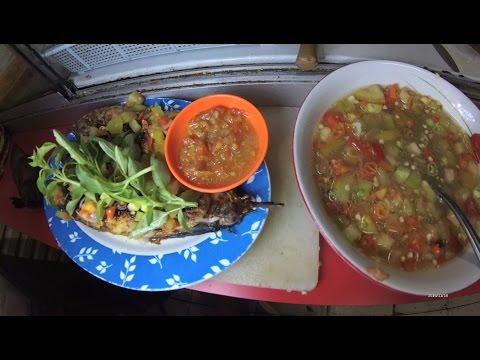 Jakarta Street Food 1037 Part.2 Gorontalo Dabu-Dabu Cakalang Grilled  Ikan Bakar Cakalang Dabu2 5908