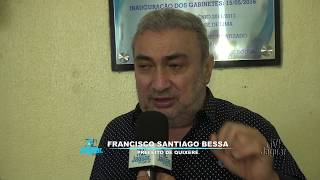 Prefeito Bessa Lançamento do programa SINALIZE em Quixeré
