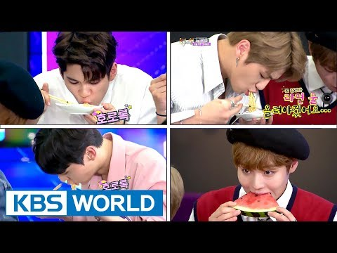 Wanna One, birth of new eating idol? Food commercials must be flooding in[Happy Together/2017.08.24]
