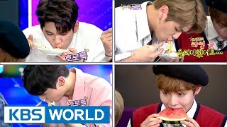 Video Wanna One, birth of new eating idol? Food commercials must be flooding in[Happy Together/2017.08.24] download MP3, 3GP, MP4, WEBM, AVI, FLV Oktober 2017
