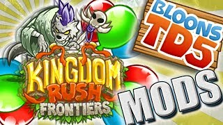MAPA KingdomRush w BTD5 || #80 || Bloons TD5 Expansion | PL