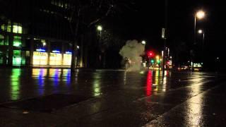 Tschechische Kugelbombe in Dresden Silvester 2012