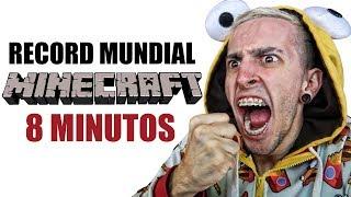 INTENTANDO ROMPER EL RECORD MUNDIAL DE MINECRAFT - Robleis