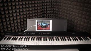 Цифрове піаніно YAMAHA P-115 (P-115B) (управління з планшетом IPAD)