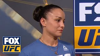 Raquel Pennington talks with Megan Olivi | INTERVIEW | UFC 224