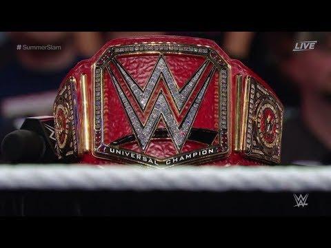 WWE Universal Championship History
