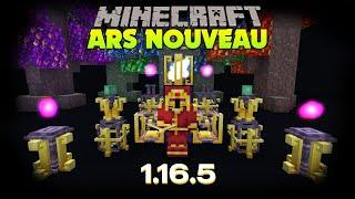 Présentation de mod : ARS NOUVEAU - 1.16.5
