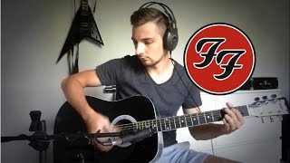 Cold Day In The Sun (Foo Fighters acoustic guitar cover) HQ sound Multicam