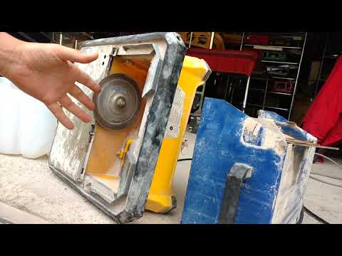 Lapidary Time!! Trimming And Flat Lapping With A Tile Saw !!!