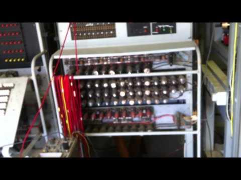 Demonstration of Collosus Mk2 Computer 1944