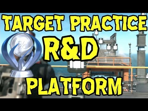 Metal Gear Solid 5 - R&D Platform - Target Practice - All Ta