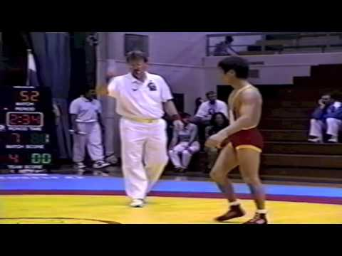 1995 World Cup: 52 kg Mongouch Tchetchen-Ool (RUS) vs. Kimikazu Sato (JPN)