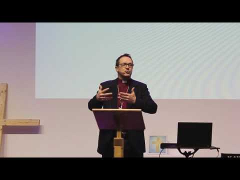 Bishop Graham Tomlin at Connected Conference, Diocese of Bristol