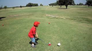 4 year old Cheyenne-Arapaho Golfer, Vincent Aispuro