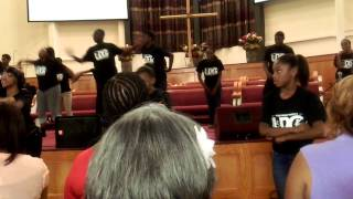U2G Hip Hop gospel routine/ Praise dance workshop 7-15-15