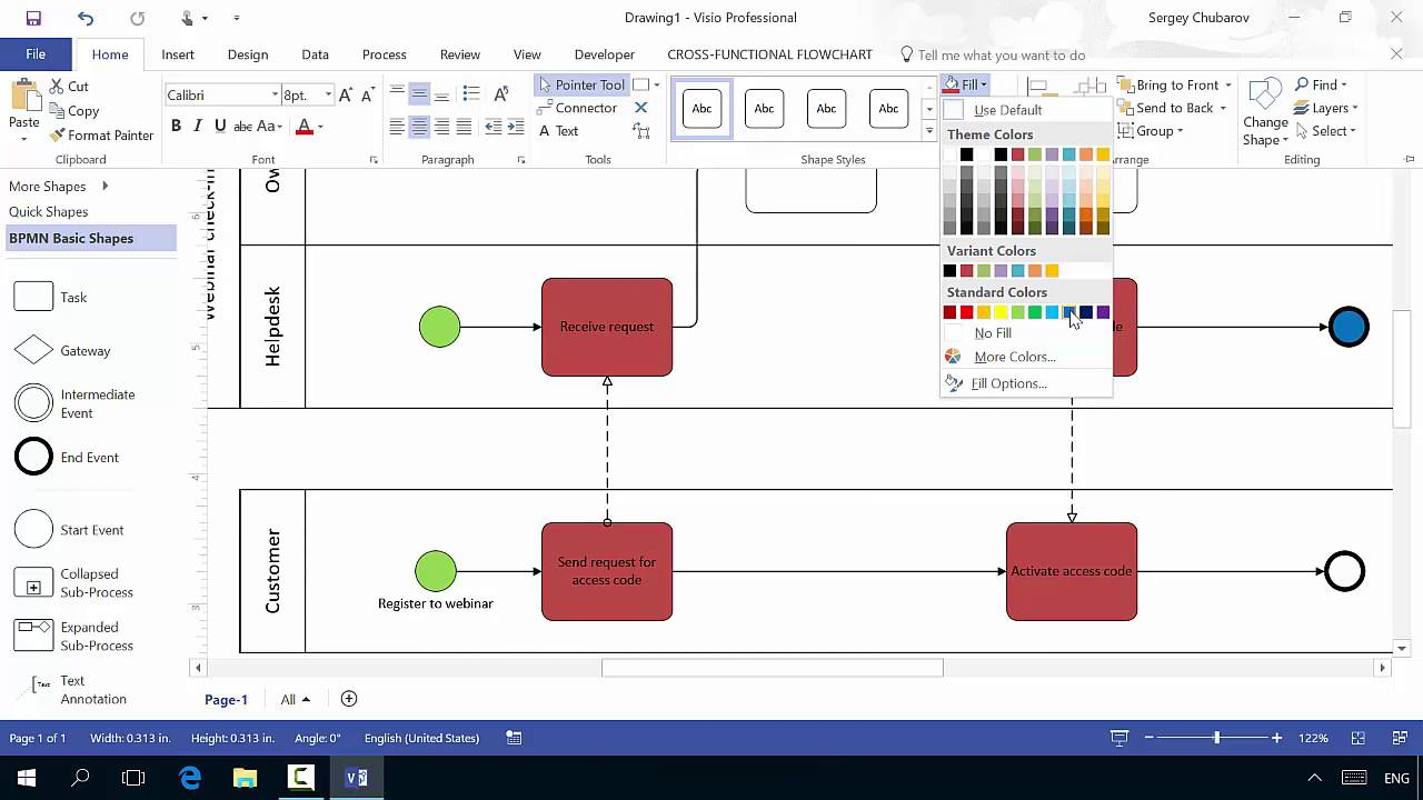 Visio 2016 for process management youtube visio 2016 for process management ccuart Image collections