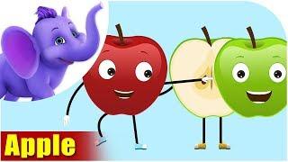 Apple - Fruit Rhyme