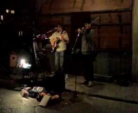 Cluadio Spadi & Andrea Cito live in Ponte Vecchio Firenze