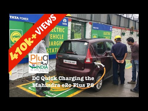 DC Quick Charging the Mahindra e2o Plus P8