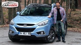 Hyundai ix35 1.6 AT Test Sr Review English subtitled смотреть