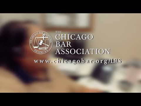 Need a Lawyer? Contact The Chicago Bar Association Lawyer Referral Service