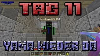 Yama wieder da in Lets Play survival Piston House Tag 11 [Deutsch]