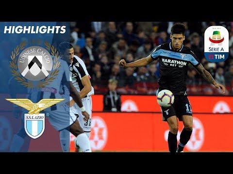 Udinese 1-2 Lazio | Lazio Make It 4 Successive Wins | Serie A