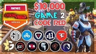 $10,000 🥊CodeRed Duo Tournament🥊 Game 2 (Fortnite)