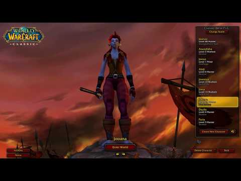 23-28 [of 1-40] Classic WoW Beta Speedrun [3/9]