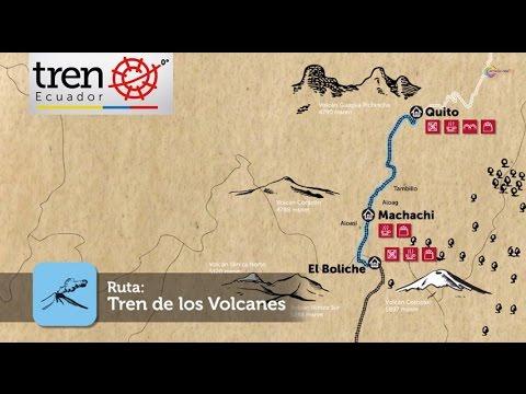 Ruta Avenida de los Volcanes - Tren Ecuador