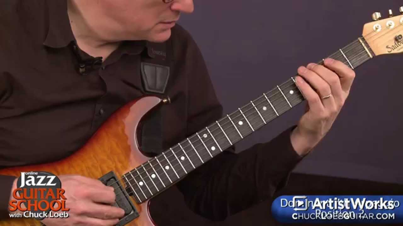 Jazz Guitar Lessons: Constructing Arpeggios in the ...