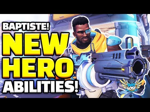 Overwatch - Baptiste NEW HERO Gameplay! - All Abilities! IMMORTALITY FIELD! thumbnail