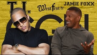 Jamie Foxx KEEPS F*%CKIN' Up With T.I. (GGN)