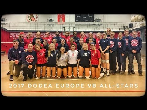 DoDEA-Europe Volleyball All-Stars 2017 - Match #1