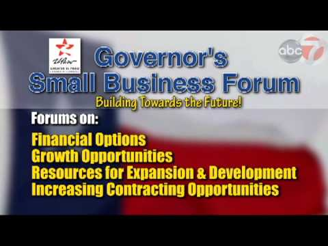 El Paso Chamber of Commerce Small Business Forum REVISED