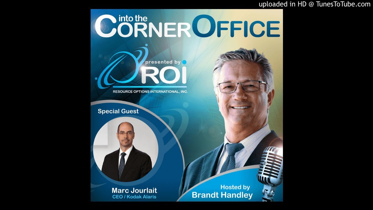 Marc Jourlait, CEO, Kodak Alaris - Episode 20
