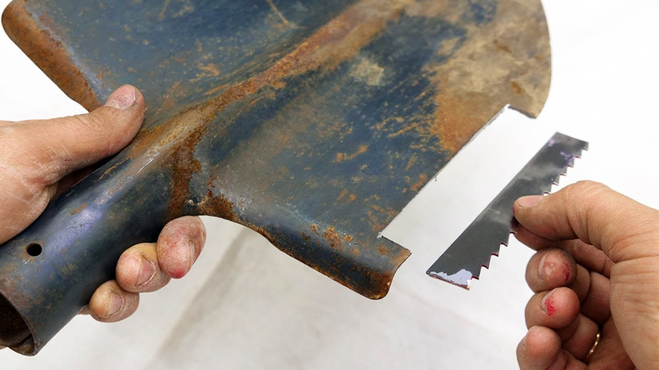 Don't throw away the old shovel! Make it for yourself.