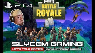 Fortnite Fun W/Slycem & Crew.... Lets Get A W!!!!!