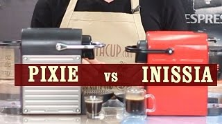 Nespresso Inissia vs Pixie - Which espresso machine is the best for you?
