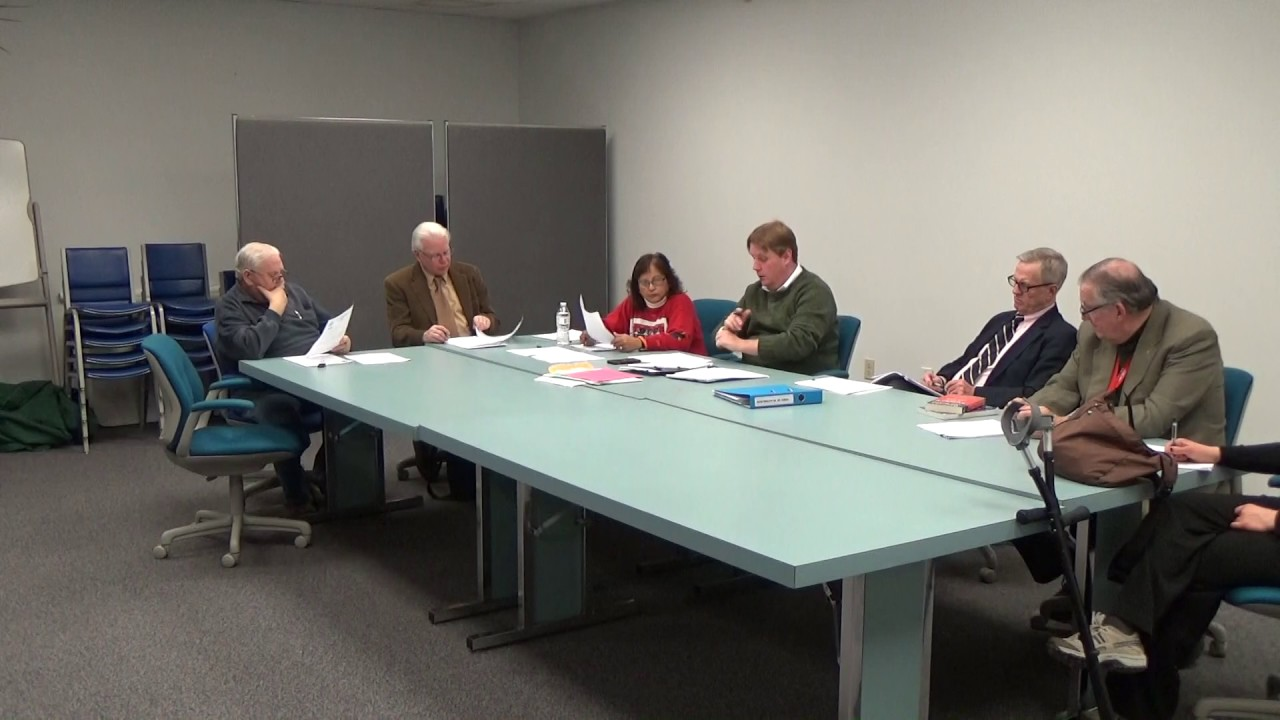 Town of Plattsburgh Meeting  12-12-16