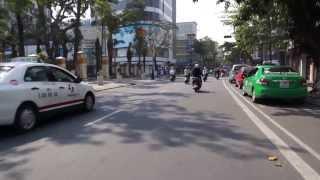 Pedicab - Danang Vietnam streets